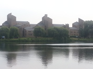Il palazzo dove hanno firmato il Trattato di Maastricht che ha dato vita all'Unione Europea