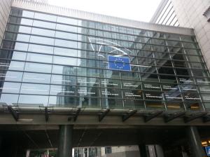 Un palazzo della UE a Bruxelles