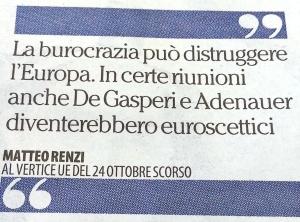 burocrazia-unione europea-renzi-de gasperi-adenauer