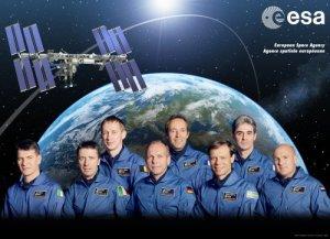 Il corpo astronautico europeo (Fonte: ESA / P. Sebirot - P. Carril - D. Ducros, 2008)