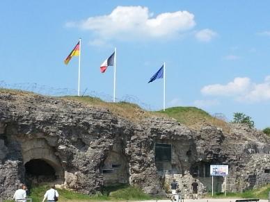 Bandiere a Verdun