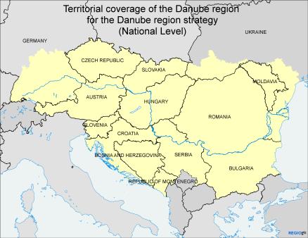 Macroregione Danubio
