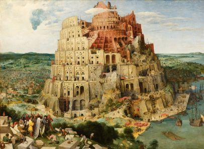 """""""La Torre di Babele"""", Pieter Bruegel, il Vecchio"""