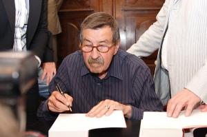 Lo scrittore e premio Nobel Gunter Grass
