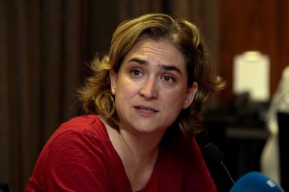La nuova sindaco di Barcelona, Ada Colau (foto di Ricardo Patiño)