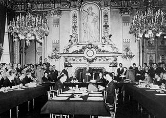 La sala dove Robert Schuman pronunciò la sua Dichiarazione per la nascita di una Comunità europea del carbone e dell'acciaio